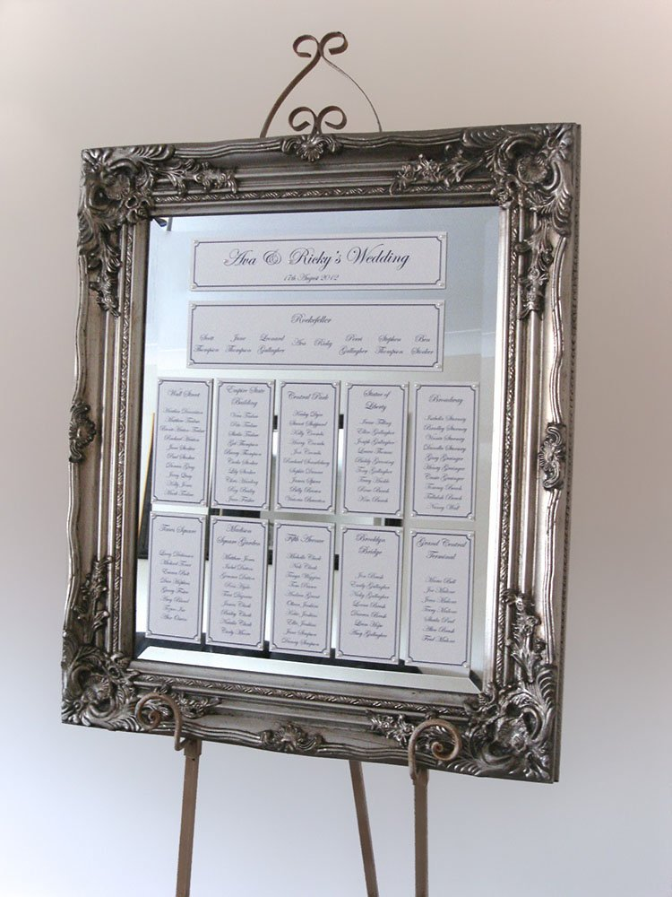 To Make A Memory Mirrored Table Plans
